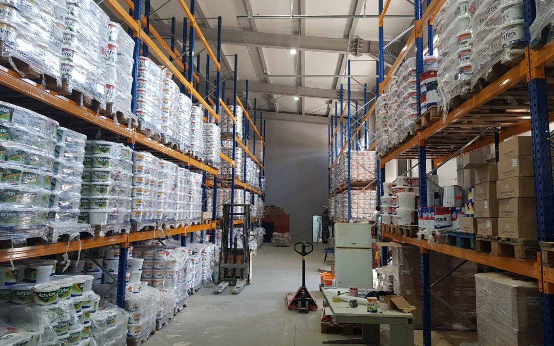 Витекс България – стелажна система и складова техника