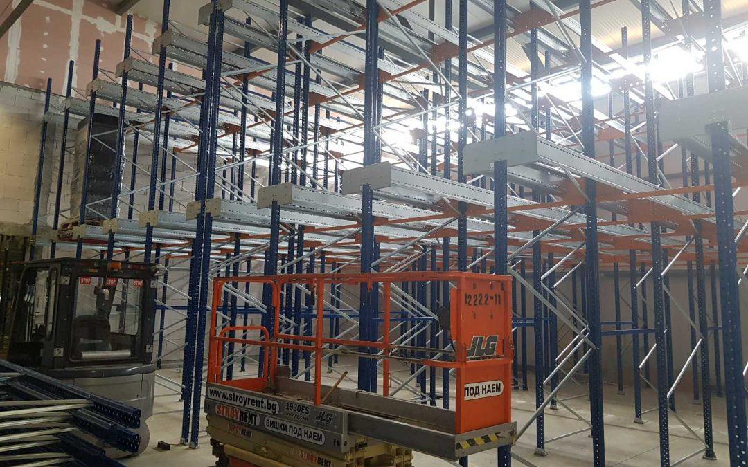 Автоматизирана складова система шатъл