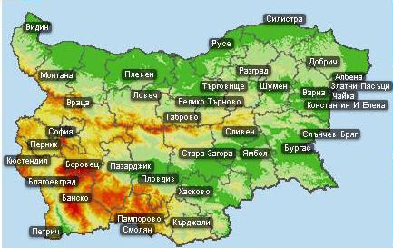 Градове в България